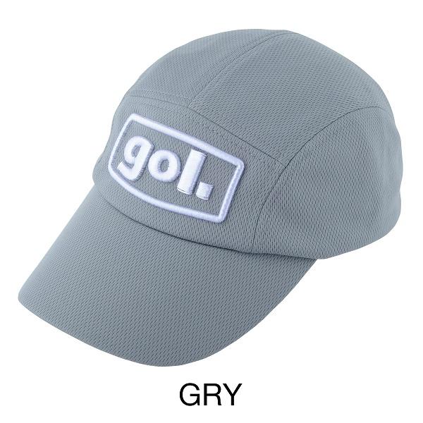 コーチングジェットキャップ<3Dロゴ>・gol.(ゴル)G083-593