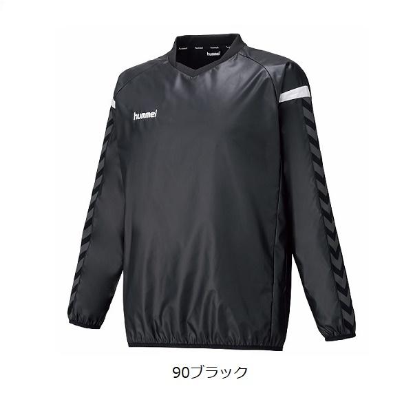 Jr.チームトライアルコート(ジュニア用ピステ)・hummel(ヒュンメル)HJW4193