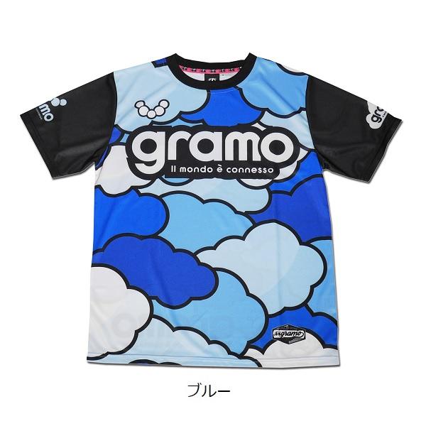 プラクティスシャツ「cloud3」・gramo(グラモ)P-054
