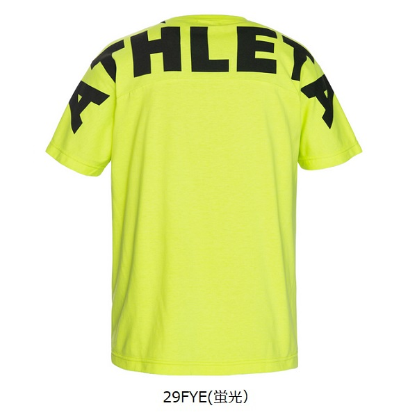 ビッグロゴ Tシャツ(ジュニア用)・ATHLETA(アスレタ)03351J