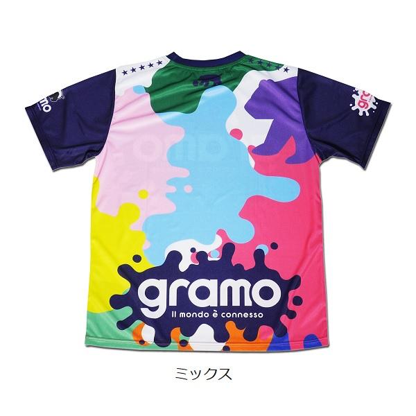 プラクティスシャツ「splash2」・gramo(グラモ)P-053