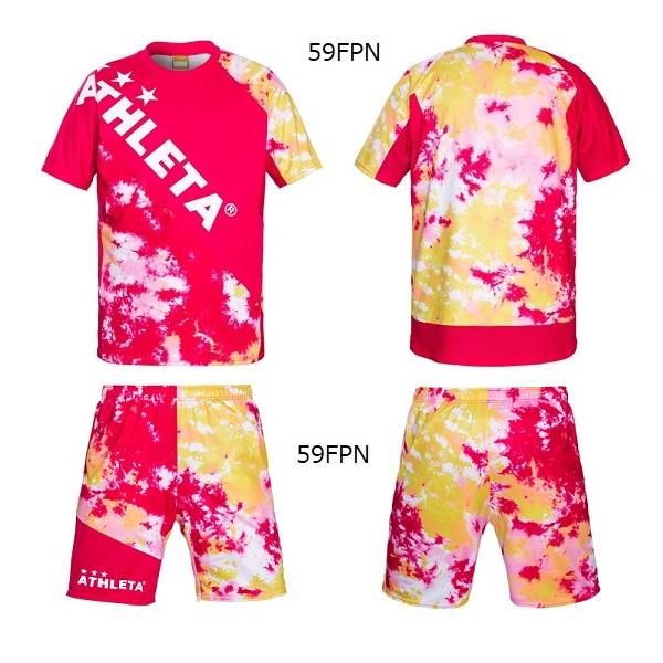 グラフィックプラシャツパンツセット(ジュニア用)・ATHLETA(アスレタ)02346J/02348J