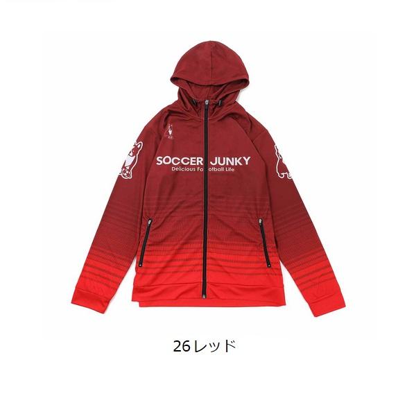 選挙犬+5プラパーカー(大人用)・soccer junky(サッカージャンキー) SJ21008