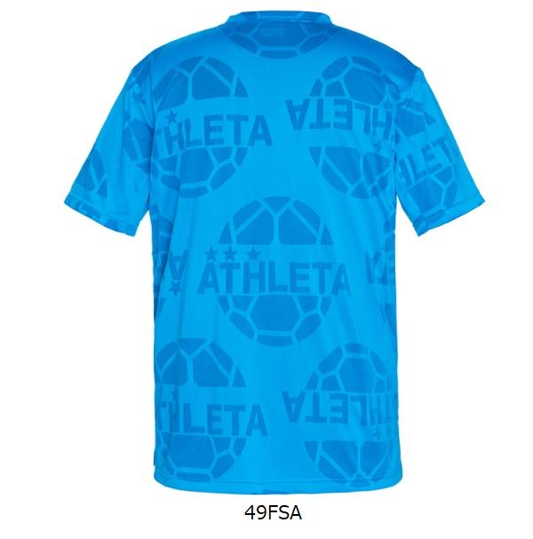 ジャガードメッシュTシャツ(大人用)・ATHLETA(アスレタ)03352