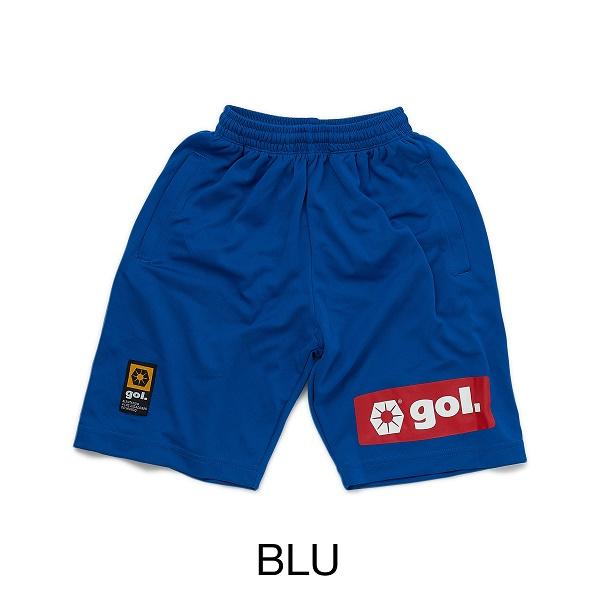 Jr.ドライパンツ<BOX LOGO>・gol.(ゴル)G775-188/ジュニア用ポケ付きプラパンツ
