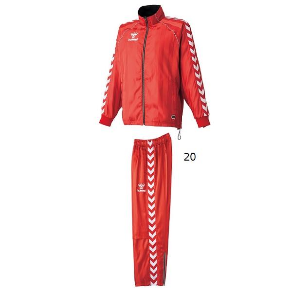 ウインドブレーカージャケット/パンツセット(大人用)・hummel(ヒュンメル)HAW2054/HAW3054【大きいサイズ有り】【送料無料】