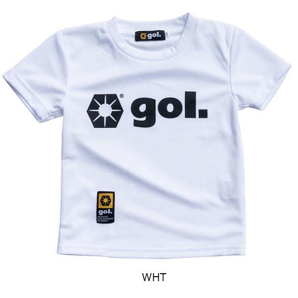 Jr.ドライシャツ1.0・gol.(ゴル)G975-224/ジュニア用プラシャツ