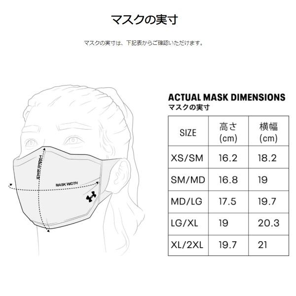 UAスポーツマスク(アンダーアーマー1368010)