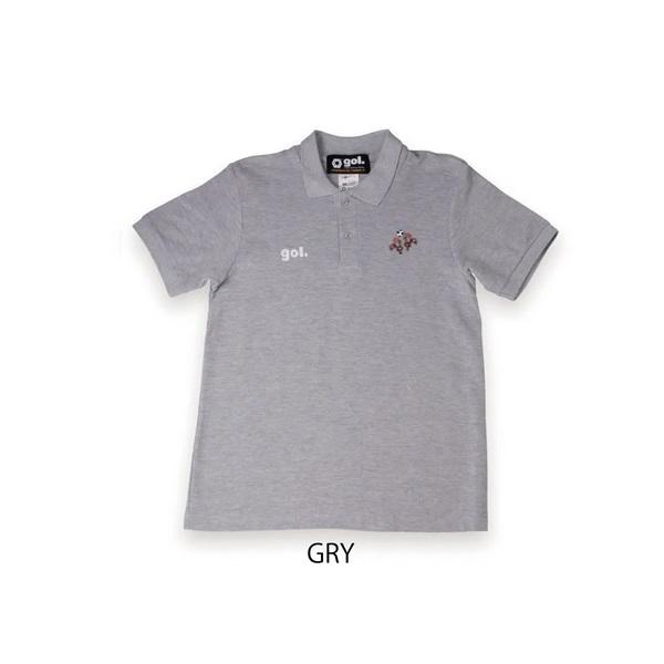 ポロシャツ<バルセロス>・ gol.(ゴル)G195-807