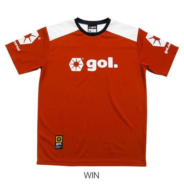 Jr.プラクティスシャツ・gol.(ゴル)G375-134