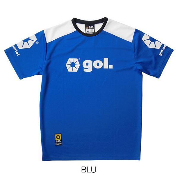 Jr.プラクティスシャツ/パンツセット・gol.(ゴル)G375-134/G375-135