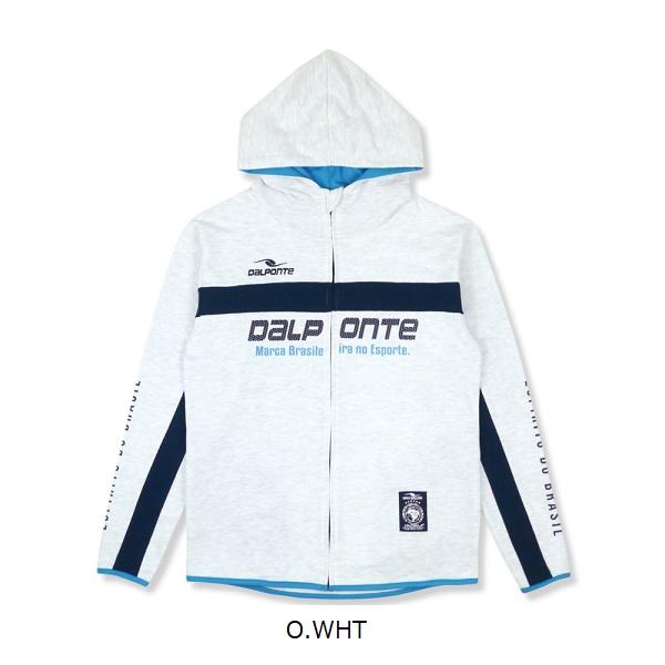 アスレジャースウェットジップパーカー・Dalponte(ダウポンチ)DPZ0314