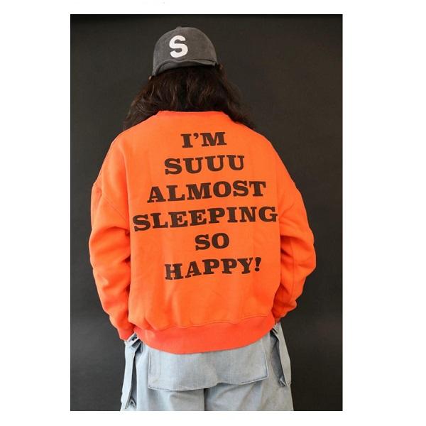 BIG SILHOUETTE SWEAT SUUPY(全3カラー)・sullo(スージョ)1333001016【送料無料】