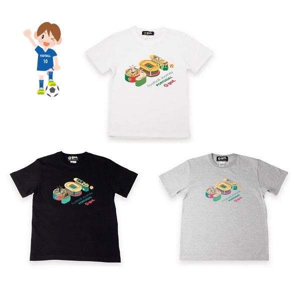 Jr.Tシャツ(CASA)(ジュニア用)・ gol.(ゴル)G192-795J
