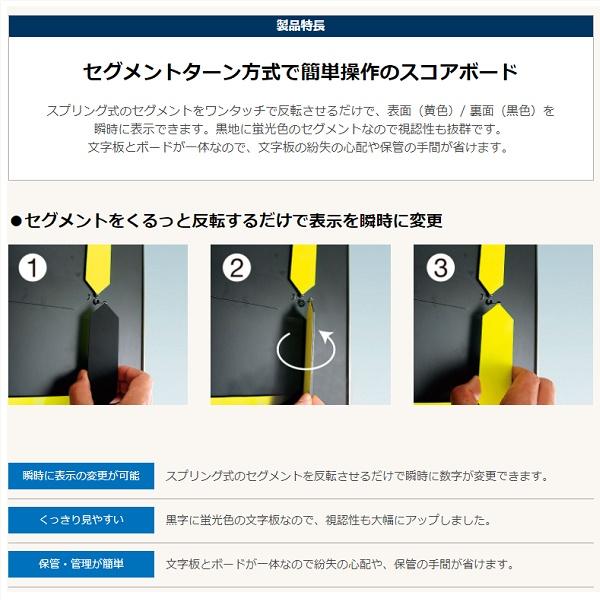 デジログスコアボード ポータブル(1基)・ルイ高・RT-S180930【送料無料】