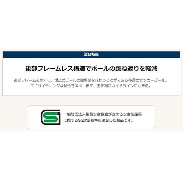 サッカーゴール ポトハンターEX(一般用)(2台1対)・ルイ高・RT-F011910【送料無料】