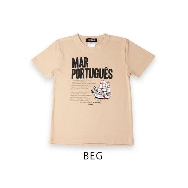 Tシャツ(MAR)(ジュニア用)・ gol.(ゴル)G192-797J