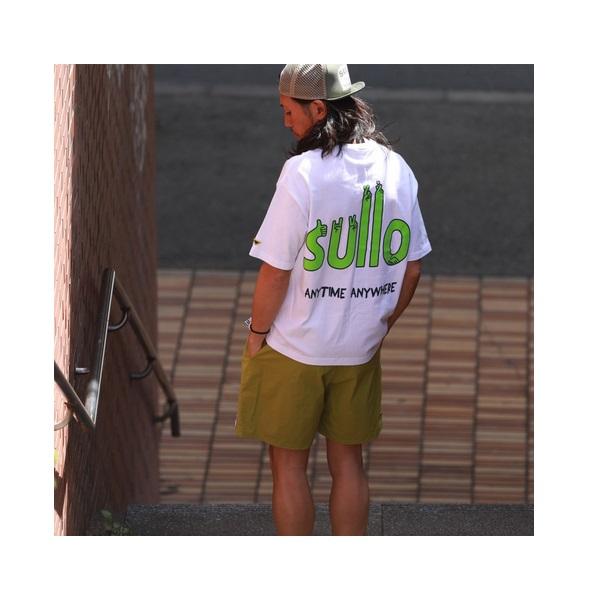 BIG SILHOUETTE L&P TEE(全2カラー) ・sullo(スージョ)1320301017