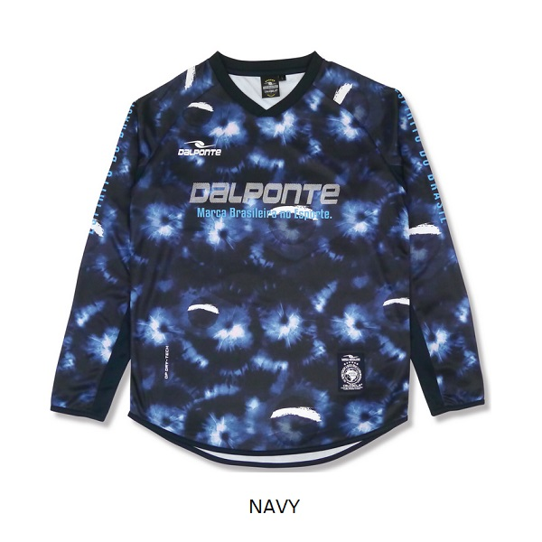 DPZ0332 Dalponte(ダウポンチ) 昇華長袖プラクティスシャツ