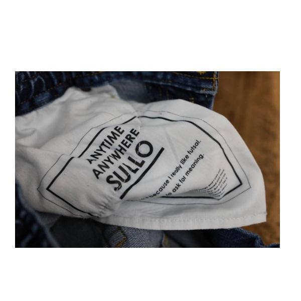 バギーデニムパンツ SULLO BAGGY DENIM PT・sullo(スージョ)1212101033【送料無料】