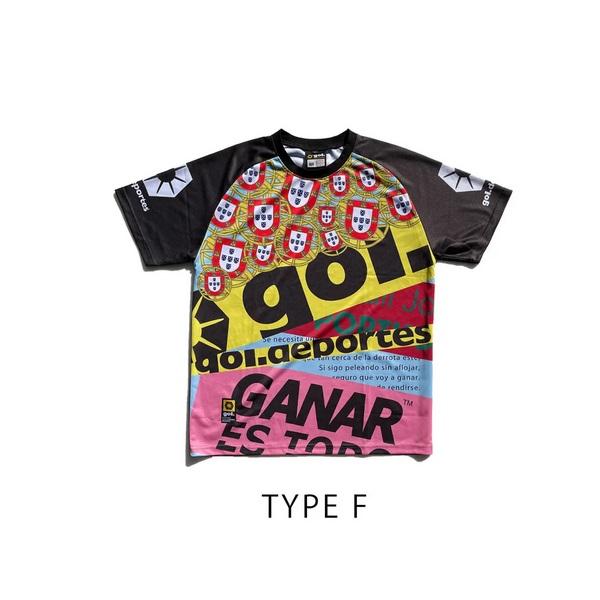 プラクティスシャツ(Carnaval)TYPE A〜H・ gol.(ゴル)G142-568