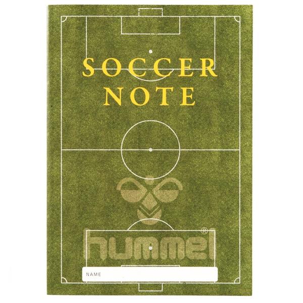 サッカーノート ベーシック版(B5)・hummel(ヒュンメル)HFA9021
