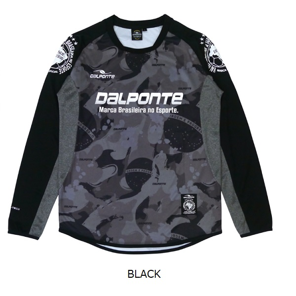 DPZ0310 Dalponte(ダウポンチ)長袖昇華 プラクティスシャツ