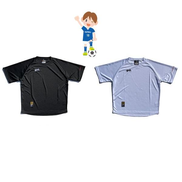 Jr.ルーズシルエットプラシャツ<PEQUENO>(ジュニア用)・ gol.(ゴル)G142-569J