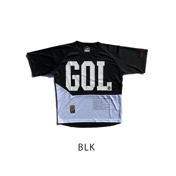 Jr.ルーズシルエットプラシャツ<GRANDE>(ジュニア用)・ gol.(ゴル)G142-570J