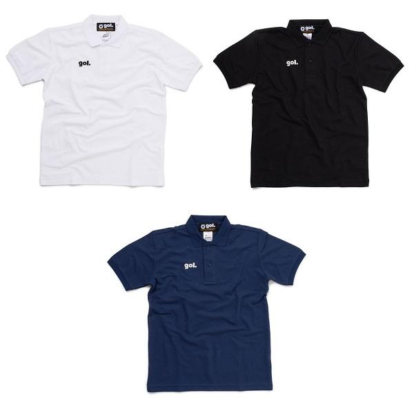 ポロシャツ<BASIC>・gol.(ゴル)G795-646