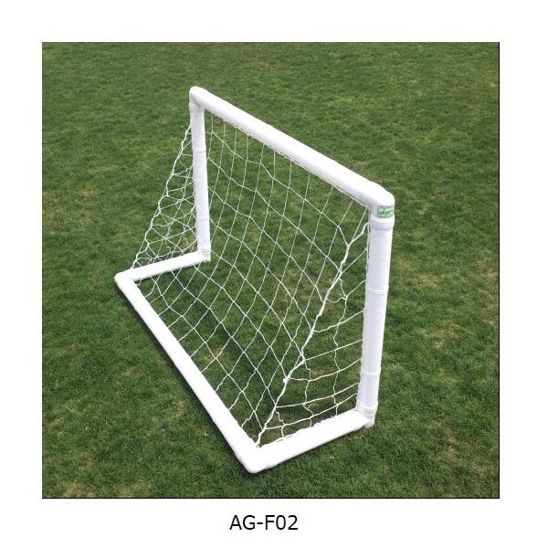 エアーゴール(ミディアムA)フットボールギアー(軽量ゴール)(組み立て式)・フットボールギアーAG-F02A【送料無料】