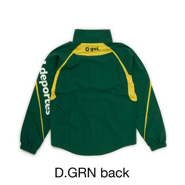 ウーブンジャケット・gol.(ゴル)G753-280【ジャージ】