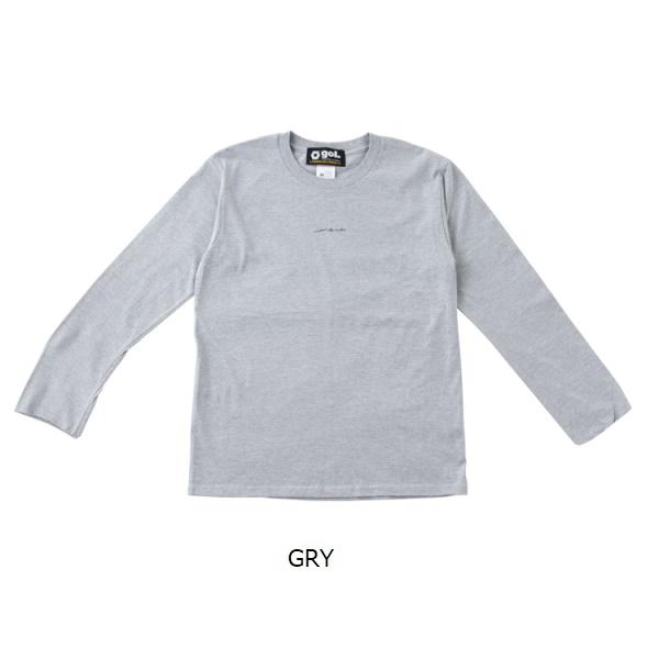 長袖Tシャツ<FOTO>・ gol.(ゴル)G191-827