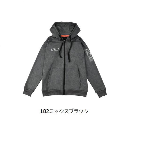 Jr.裏シャギージップパーカー・Spazio(スパッツィオ)TP-0576