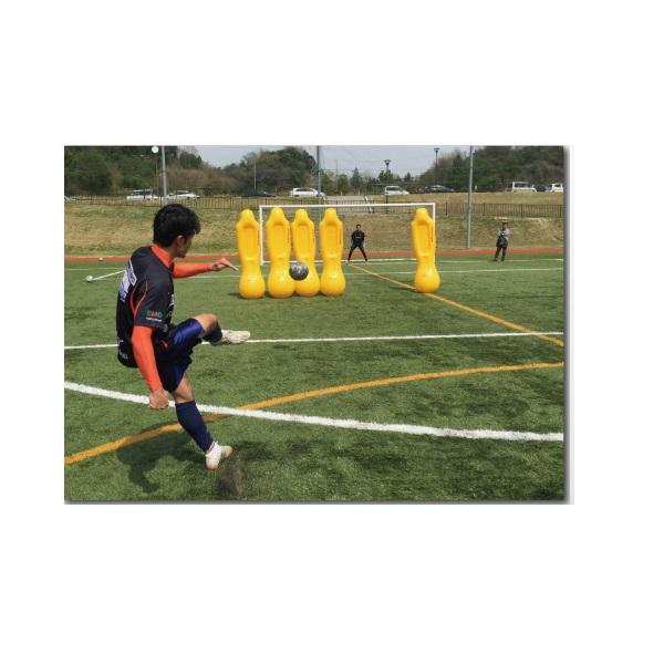 エアーダミー5体セット・フットボールギアー(軽量)(組み立て式)・フットボールギアーTK-CQR‐01*5【送料無料】