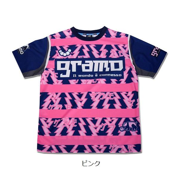 プラクティスシャツ「GORORO」・gramo(グラモ)P-066