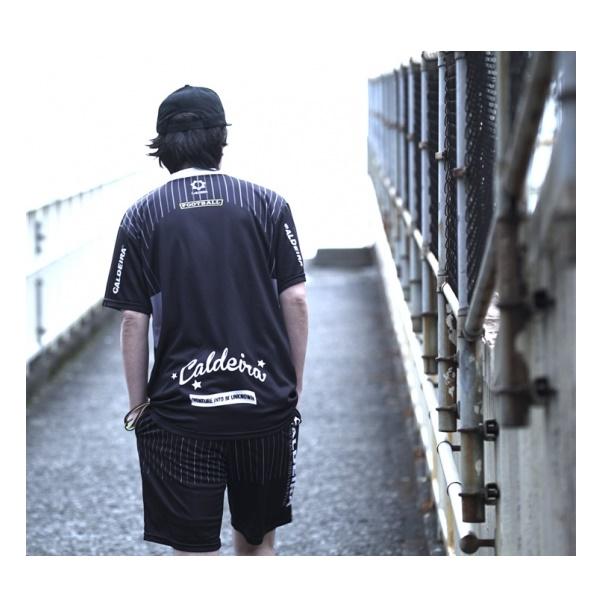 "PINSTRIPE GAME SHIRT ""ARMOR"" 半袖プラシャツ ・CALDEIRA(キャルデラ)9006【再入荷商品】"