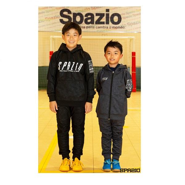Jr.裏シャギープルパーカー・Spazio(スパッツィオ)TP-0570