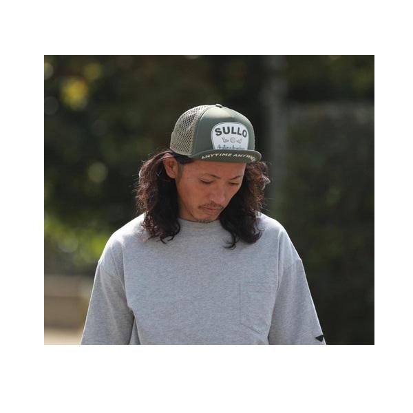 TYPE M MESH CAP(全2カラー)・sullo(スージョ)1325501025