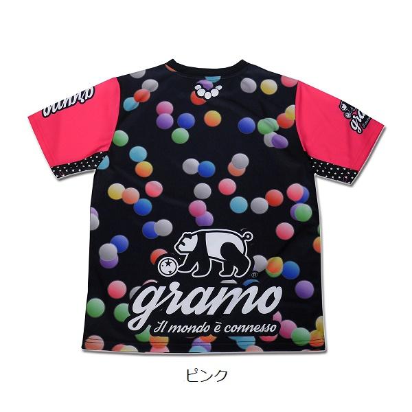プラクティスシャツ「illusion」・gramo(グラモ)P-065