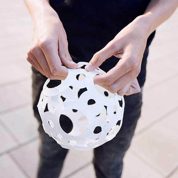 FOOOTY(フーティ)組立サッカーボール 室内遊び アウトドア スポーツ玩具