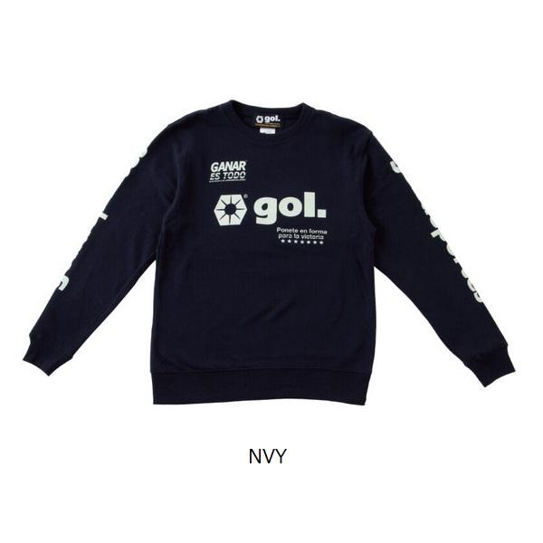 スウェットシャツ<LOGOS> ・gol.(ゴル)G193-814