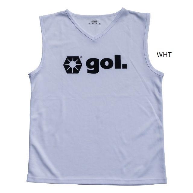 プラクティスシャツノースリーブ1.0・gol.(ゴル)G946-533