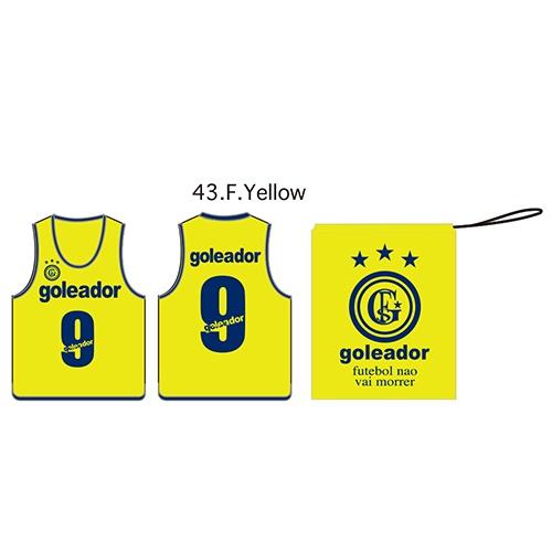ビブス10枚Set(No,2〜11)・goleador(ゴレアドール)A-043【送料無料】
