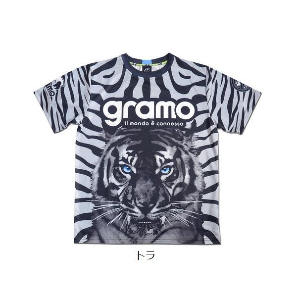 プラクティスシャツ「roar」・gramo(グラモ)P-049