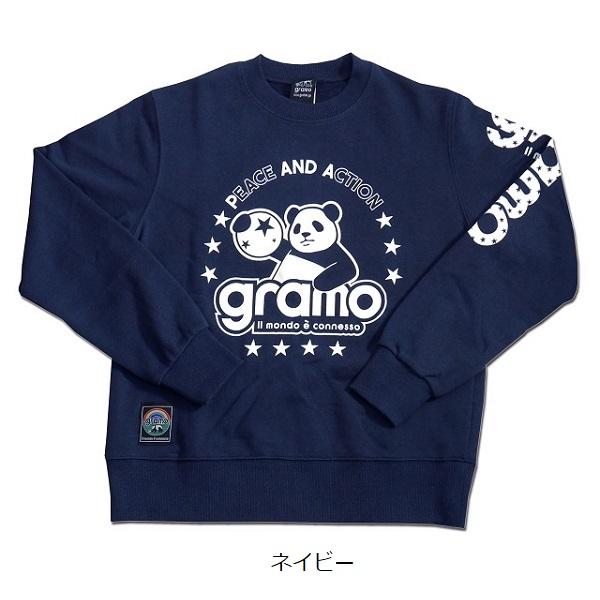 スウェットトップス「SLASH2」・gramo(グラモ)SW-006