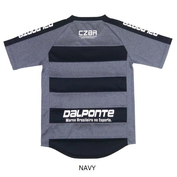 DPZ98Dalponte(ダウポンチ) ボーダープラクティスシャツ【Jr対応】