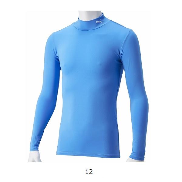コンプレッションモックネックLSシャツ(長袖インナー)・PUMA(プーマ)656331【大きいサイズ有り】