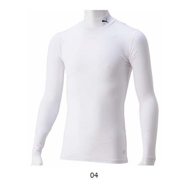 コンプレッションジュニアモックネックLSシャツ(長袖インナー)・PUMA(プーマ)656332
