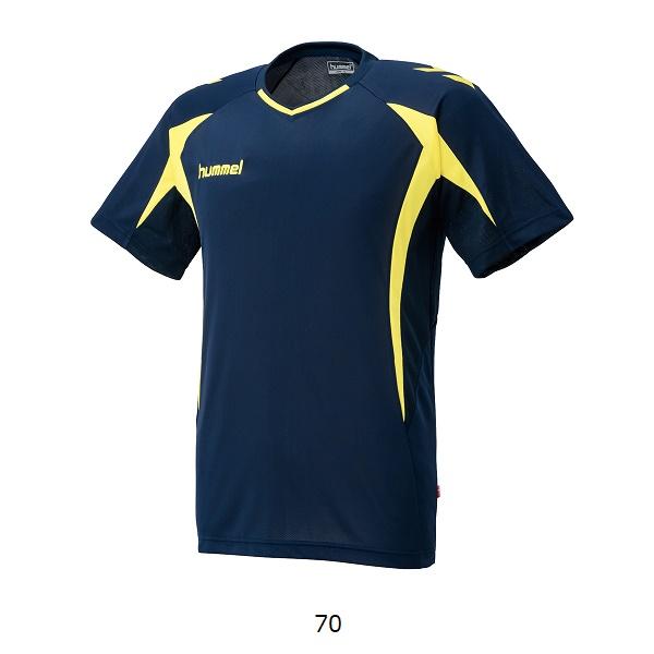 プラクティスシャツ(半袖)・hummel(ヒュンメル)HAP1124